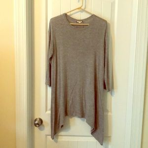 Tunic top. Super cute for fall with leggings!